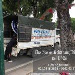 Dịch vụ taxi tải giá rẻ Phi Long tại đường Hồ Tùng Mậu