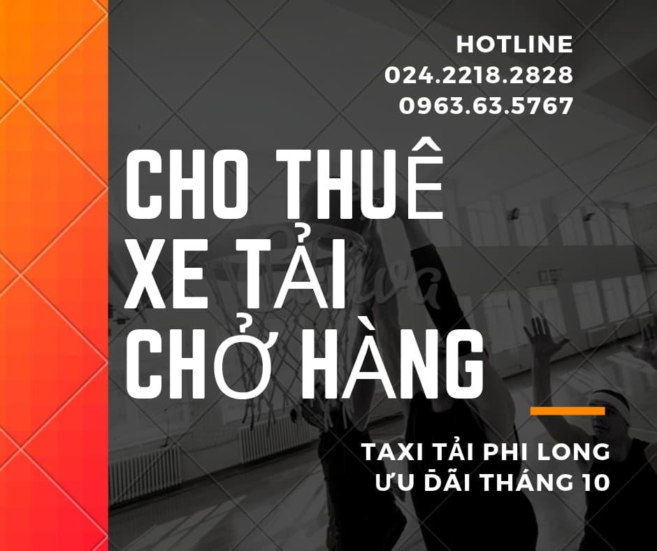 Cho thuê xe tải chất lượng Phi Long tại phố Kim Giang