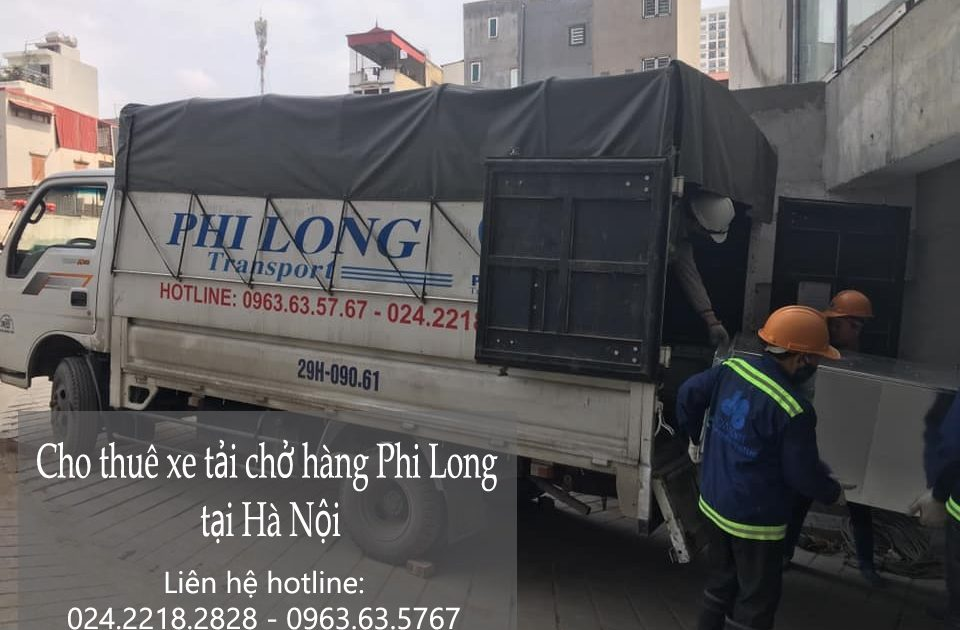 Hãng cho thuê xe tải chất lượng Phi Long tại phố Ỷ Lan