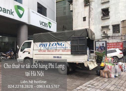 Dịch vụ vận chuyển taxi tải Phi Long tại phố Dương Quang