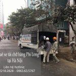 Dịch vụ taxi tải Phi Long tại phố Mậu Lương