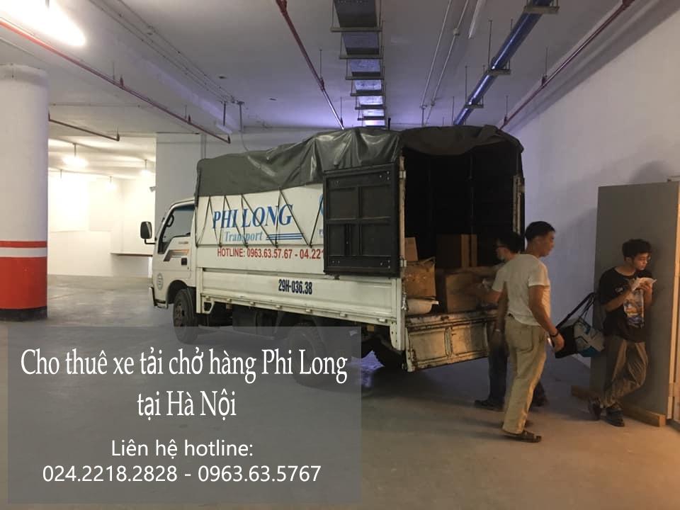 Phi Long dịch vụ taxi tải giá rẻ tại phố Đội Cấn