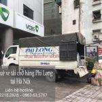Phi Long taxi tải giá rẻ tại phố Đản Dị