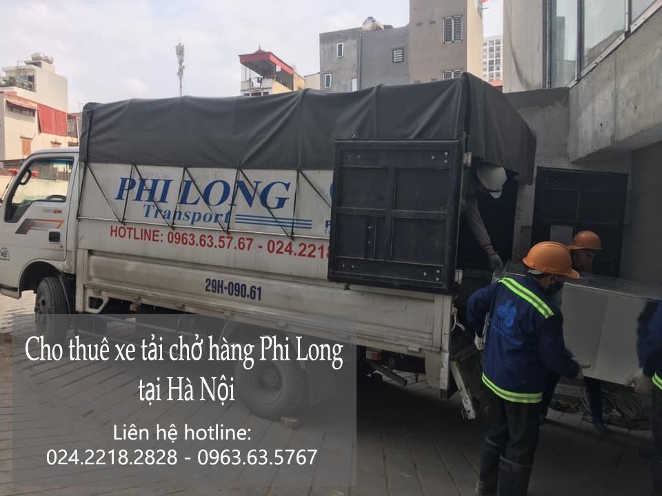 Dịch vụ xe tải chất lượng cao Phi Long phố Chu Văn An