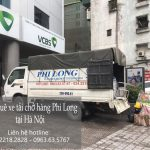 Chở hàng thuê chất lượng cao Phi Long phố Chùa Một Cột