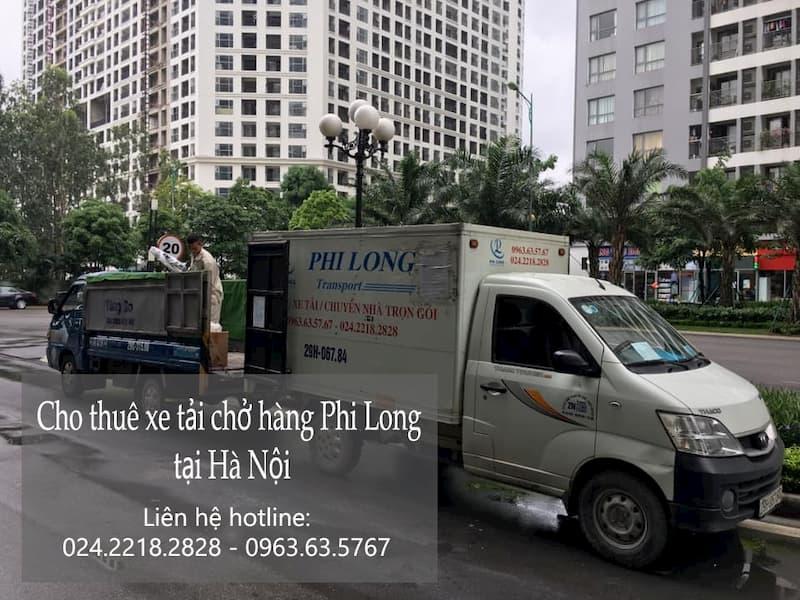 Dịch vụ xe tải giá rẻ Phi Long phố Láng Hạ