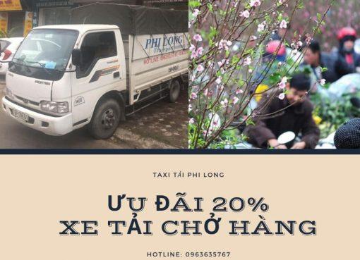 Dịch vụ cho thuê xe tải tại xã Xuân Canh