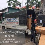 Taxi tải chở hàng tết Phi Long phố Kim Mã Thượng
