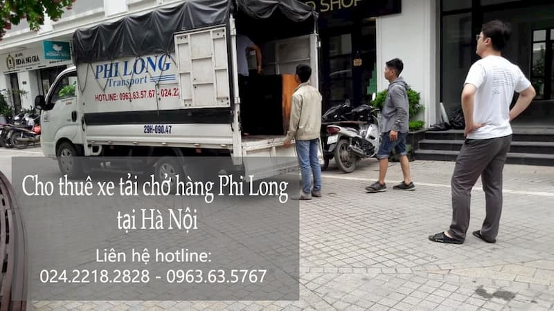 Dịch vụ xe tải giá rẻ Phi Long phố Chả Cá
