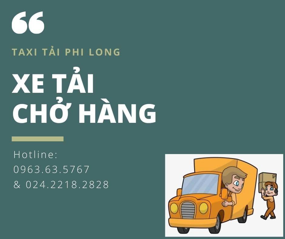 Dịch vụ cho thuê xe tải tại xã Hồng Thái