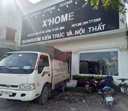 Dịch vụ cho thuê xe tải Phi Long tại đường Phúc Tiến