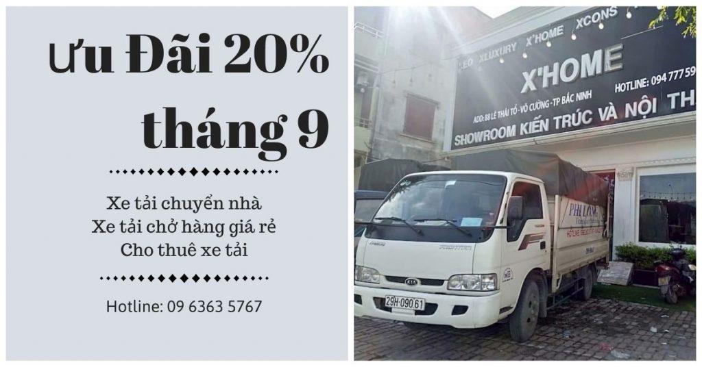 Dịch vụ cho thuê xe tải Phi Long tại xã Minh Tân