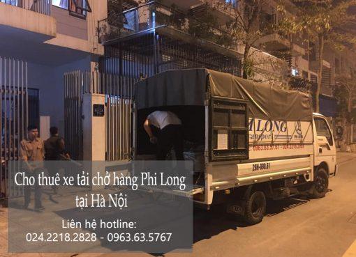 Dịch vụ cho thuê xe tải Phi Long tại phố Tôn Thất Tùng