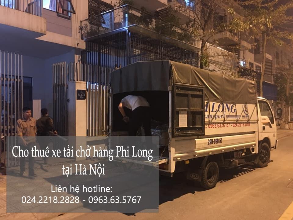 Dịch vụ cho thuê xe tải Phi Long tại phố Nguyễn Hoàng