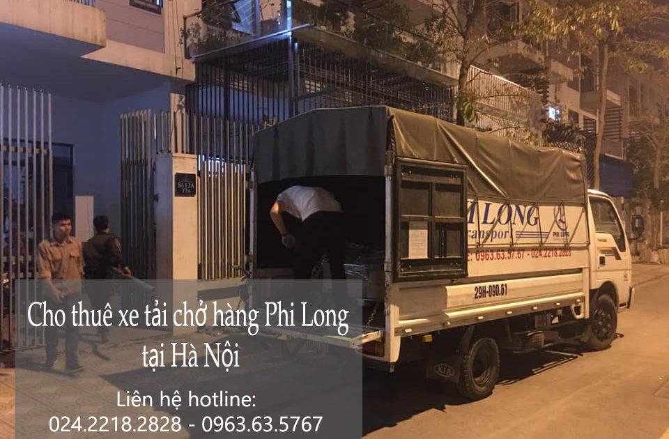 Dịch vụ cho thuê xe tải Phi Long tại xã Thụy Phú