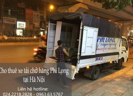Dịch vụ cho thuê xe tải Phi Long tại xã Canh Nậu