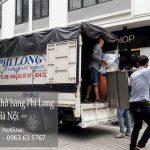 Dịch vụ cho thuê xe tải Phi Long tại phố Tương Mai