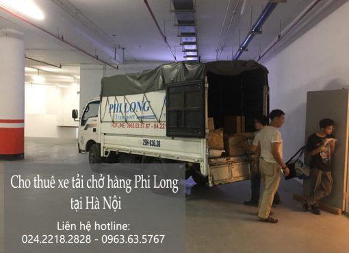 Dịch vụ cho thuê xe tải Phi Long tại phường thượng thanh