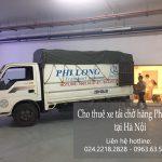 Dịch vụ cho thuê xe tải tại xã tân xã