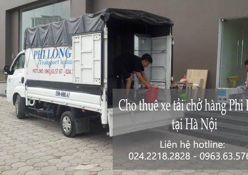 Dịch vụ cho thuê xe tải Phi Long tại phố Nhân Hòa