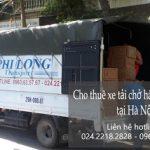 Dịch vụ cho thuê xe tải Phi Long tại đường Tương Mai