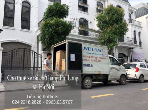 Dịch vụ cho thuê xe tải Phi Long tại đường nguyễn phan chánh