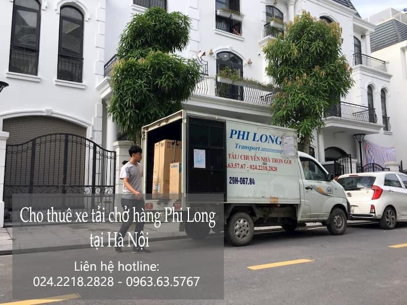 Dịch vụ cho thuê xe tải Phi Long tại phố Thép Mới