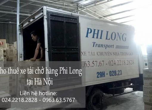dịch vụ thuê xe tải nhỏ chở hàng tại đường long biên 1