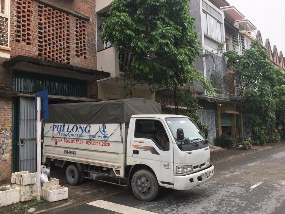 dịch vụ cho thuê xe tải tại đường hồng tiến