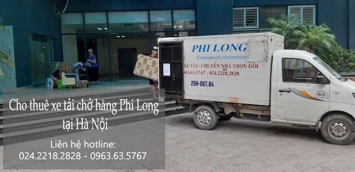Dịch vụ taxi tải Phi Long phố Trần Đăng Ninh