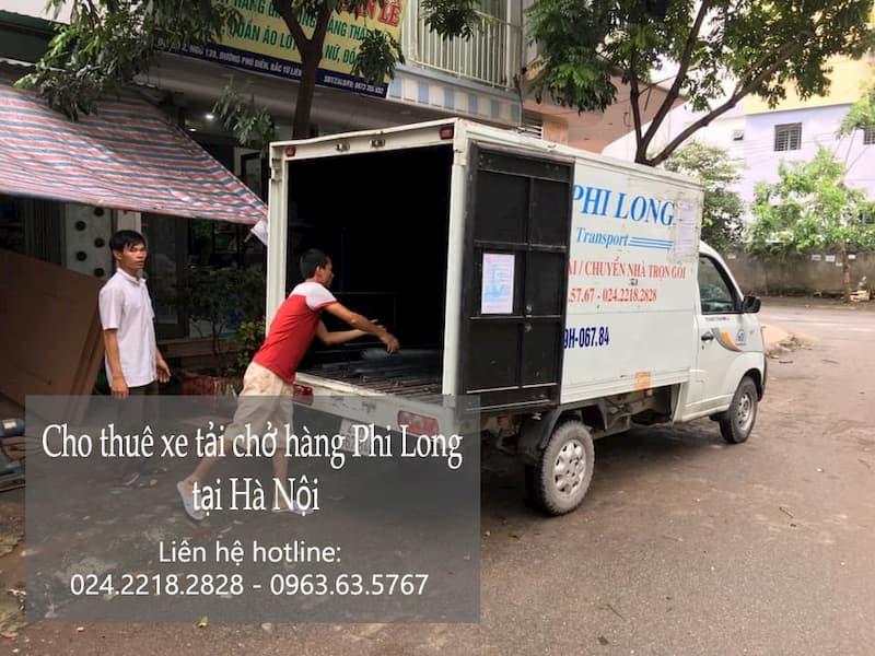 Dịch vụ cho thuê xe tải tại đường Phú Minh