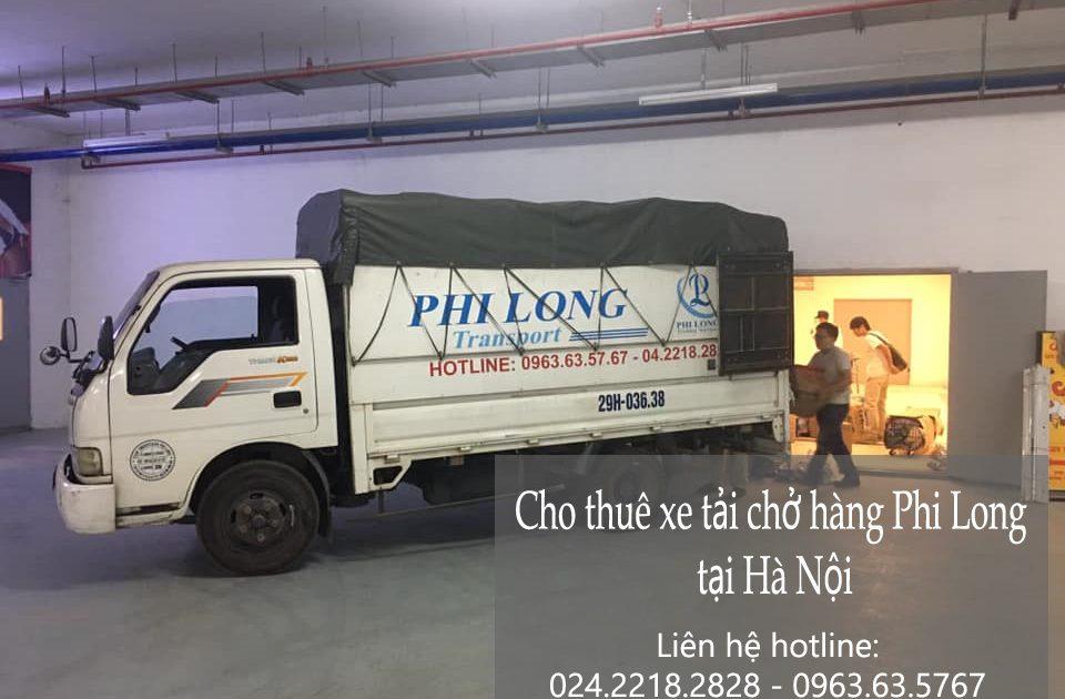 Dịch vụ cho thuê xe tải Phi Long tại đường Tân Thụy
