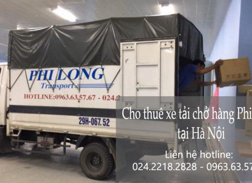 Dịch vụ cho thuê xe tải Phi Long tại đường Hữu Hưng