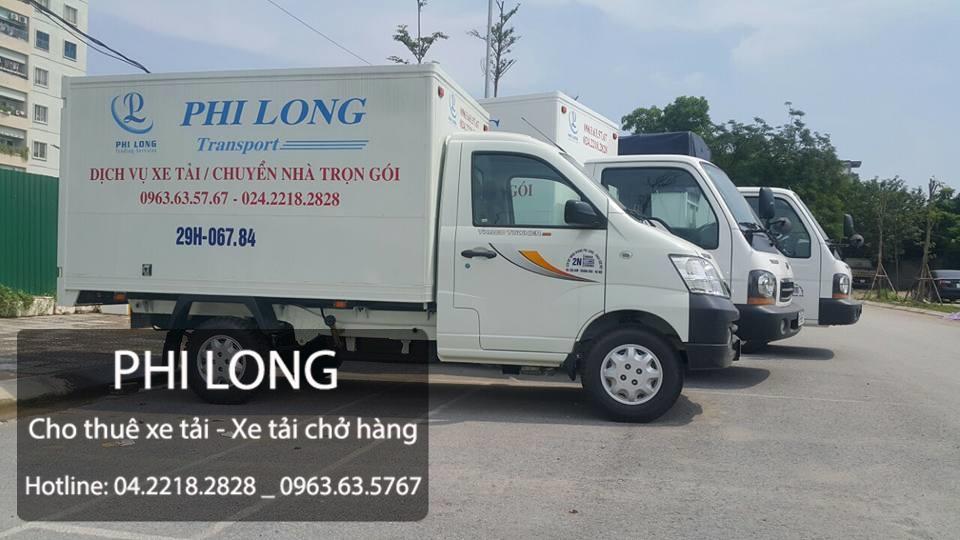 dịch vụ cho thuê xe tải tại đường huỳnh tấn phát