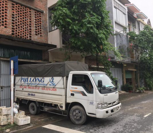 Xe tải chở thuê Phi Long tại quận Long Biên