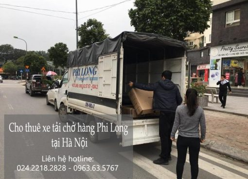 Xe tải chở thuê tại khu đô thị Sài Đồng