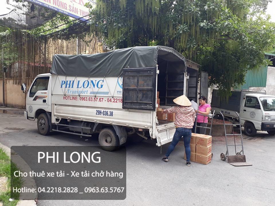 Dịch vụ cho thuê xe tải tại đường Việt Hưng