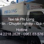 Dịch vụ cho thuê xe tải gia rẻ tại đường Phạm Khắc Quảng