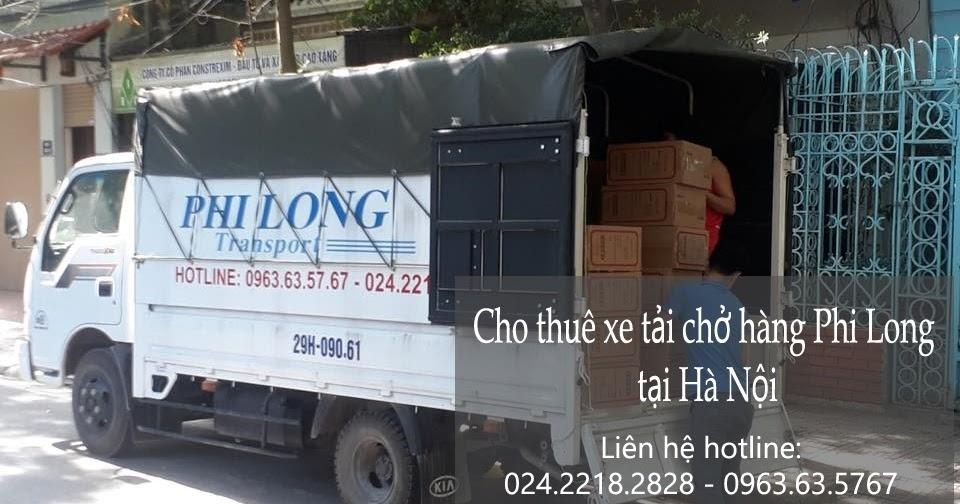 Taxi tải chuyển nhà từ đường Lĩnh Nam đi Hưng Yên