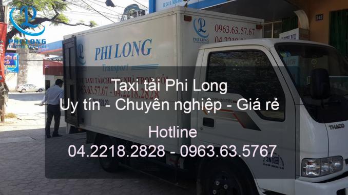 Dịch vụ taxi tải tại hà nội tại đường Phúc Diễn