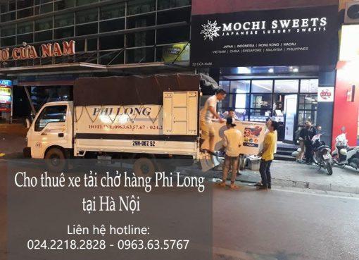 dịch vụ taxi tải tại đường Nguyễn Chính đi Thái Bình