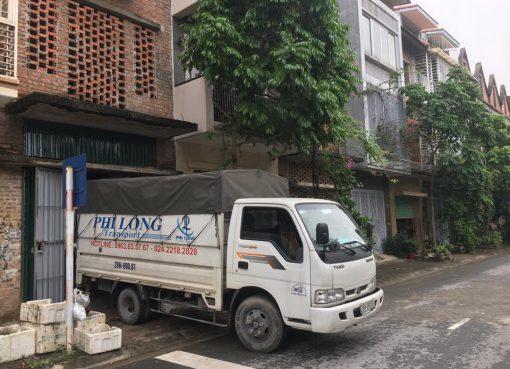 Dịch vụ xe tải chở hàng tại huyện Phú Xuyên
