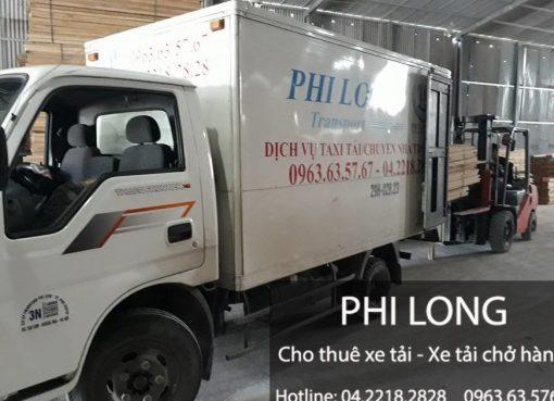 Dịch vụ thuê xe tải tại đường Trịnh Đình Cửu đi Hà Nam
