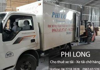 Dịch vụ cho thuê xe tải tại huyện Sóc Sơn