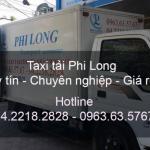 Dịch vụ cho thuê xe tải tại đường Thạch Bàn đi Hải Phòng